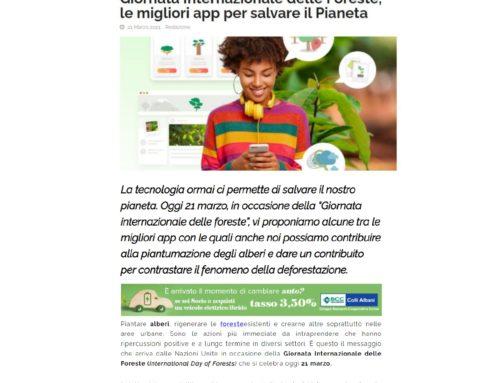 Giornata Internazionale delle Foreste, le migliori app per salvare il Pianeta