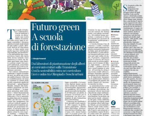 Futuro green, a scuola di forestazione